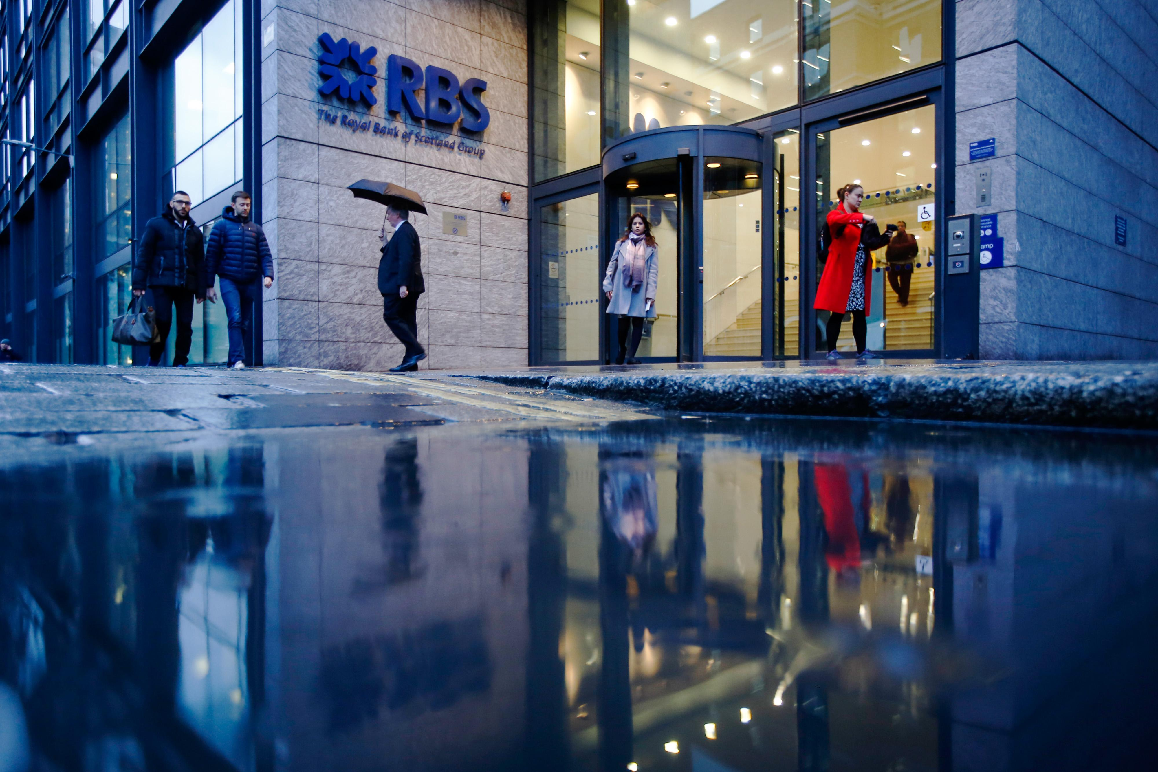 RBS first-quarter earnings down 12.5% amid Brexit worries