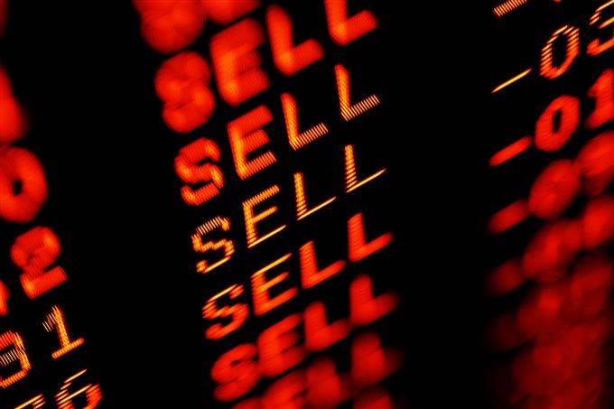 red sell screen