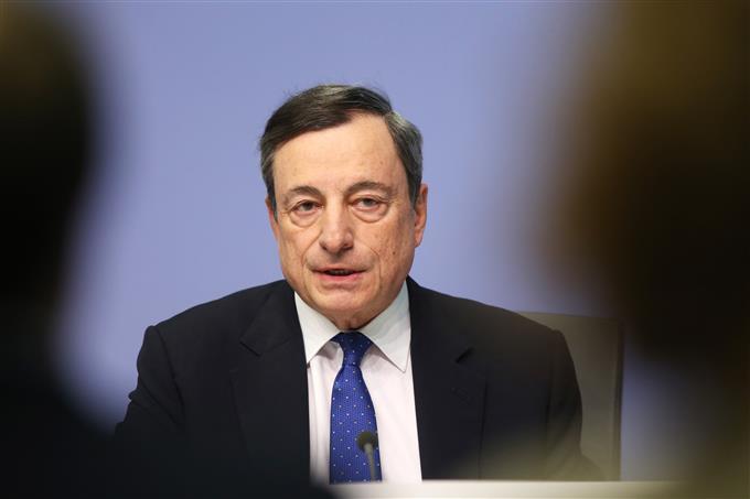 Discours Mario Draghi Sintra 19 juin 2019 impacte l'euro en baisse vers 1,15 dollar