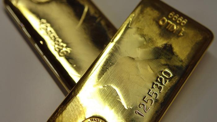 El precio del oro pierde fuelle y ataca un soporte clave tras la reaparición de los vendedores