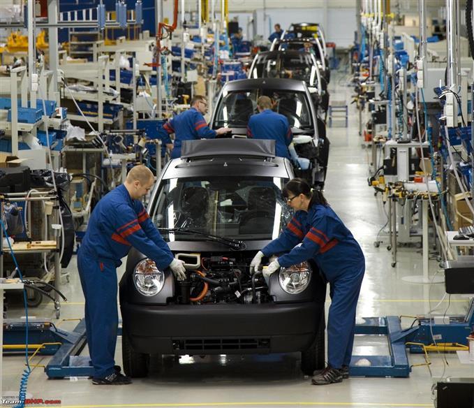 Image de production de voitures automobiles
