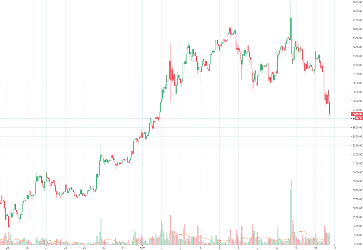 Bitcoin Schwarzer Freitag Fur Den Krypto Taler