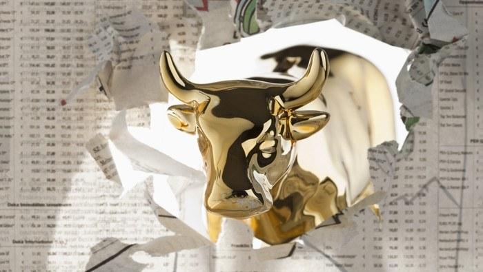 Precio del oro repunta luego de tres sesiones conescutivas a la baja y confirma canal alcista