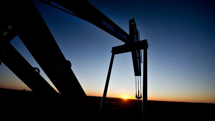 Crude Oil Price Rise Capped By Fed's Powell, Chart Warns of Topping