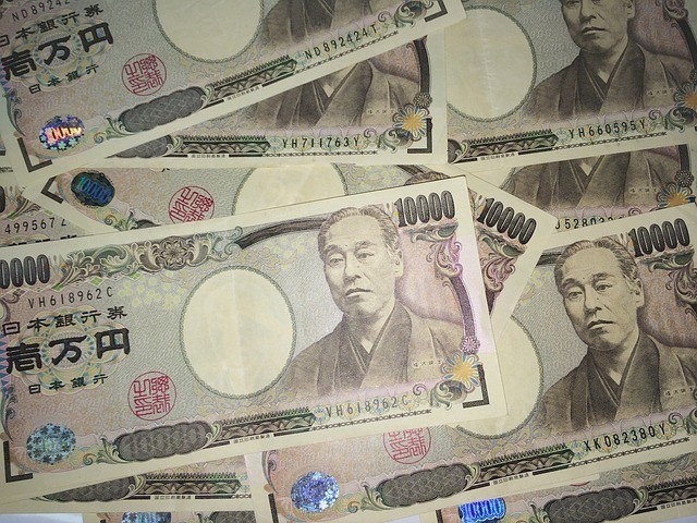 Safe haven currencies include the Japanese Yen (above)