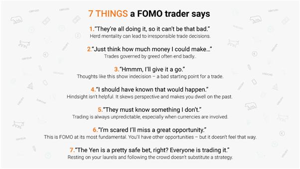 Things a FOMO trader might say