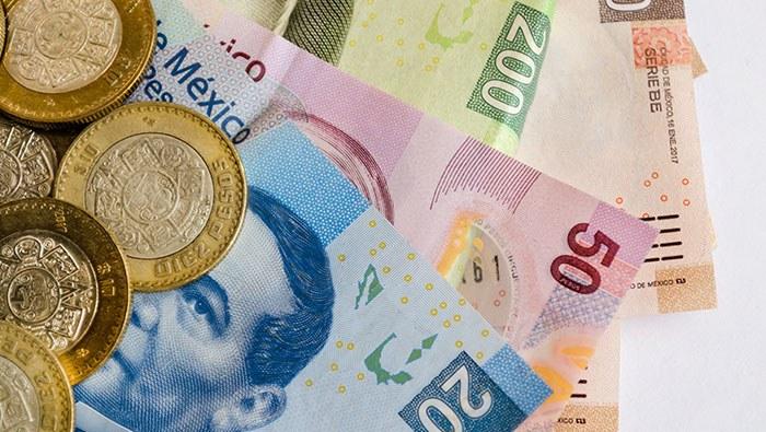 Peso mexicano avanza con paso firme, pero el USD/MXN se aproxima a un soporte importante