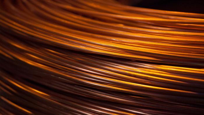Precio del cobre con perspectiva neutral a bajista a corto plazo ante inminente recesión mundial