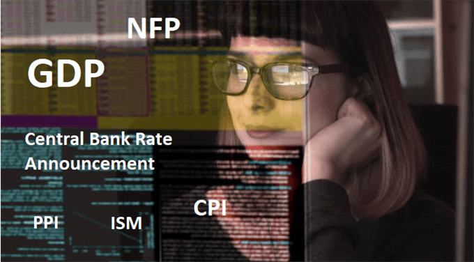 forex news trader looking at a screen