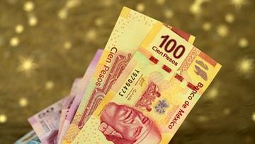 Peso mexicano recupera las fuerzas y avasalla al dólar; USD/MXN pone en peligro los 19.75