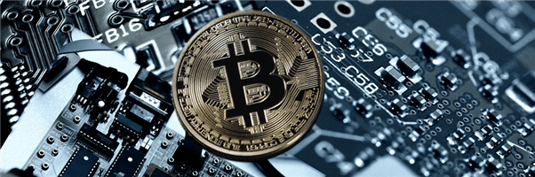 Bitcoin: Coin as digital currency on semiconductor