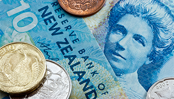 NZ Dollar Depreciates as Housing Fund Reduces RBNZ Rate Hike Bets