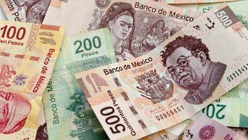 Peso mexicano sucumbe ante los vendedores por aversión al riesgo; USDMXN toca los 19.20