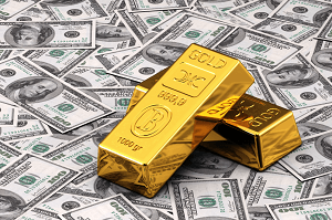 Gold Prices Fall Towards Critical Support as USD Wins Safe Haven Battle
