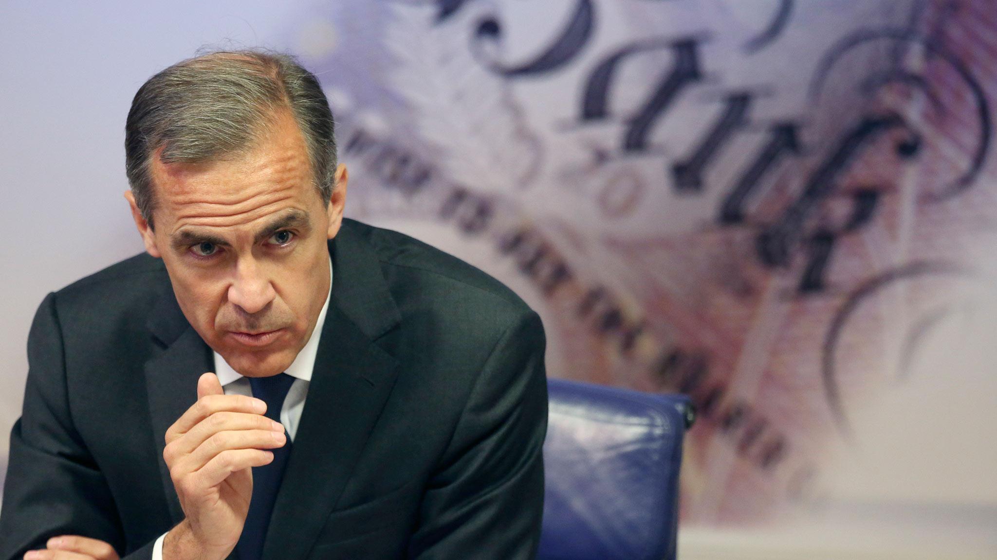 Mark Carney del BoE apunta sus dardos a China y el Brexit.