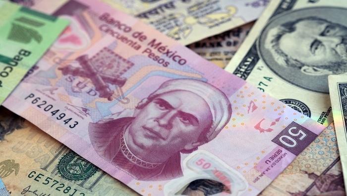 Peso mexicano se impone de nuevo ante el dólar, USD/MXN rompe soporte técnico crítico