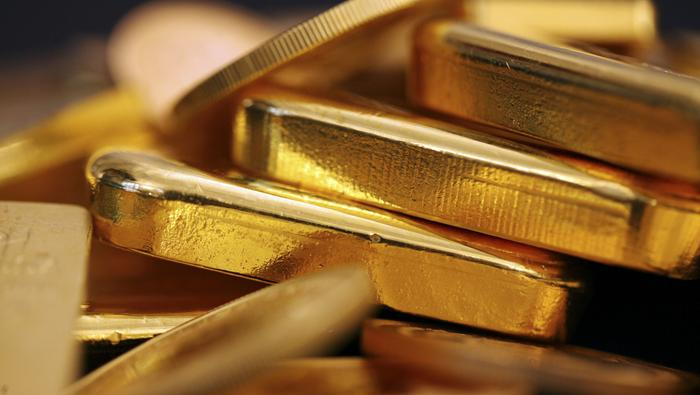 Precio del oro elimina los avances de la sesión anterior y choca con un soporte clave. ¿Qué pasa?