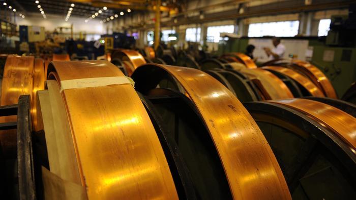Copper : Le cours du cuivre à un plus haut de 3 mois