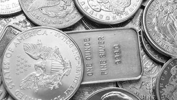El precio de la plata canalizado al alza apunta a los máximos de abril