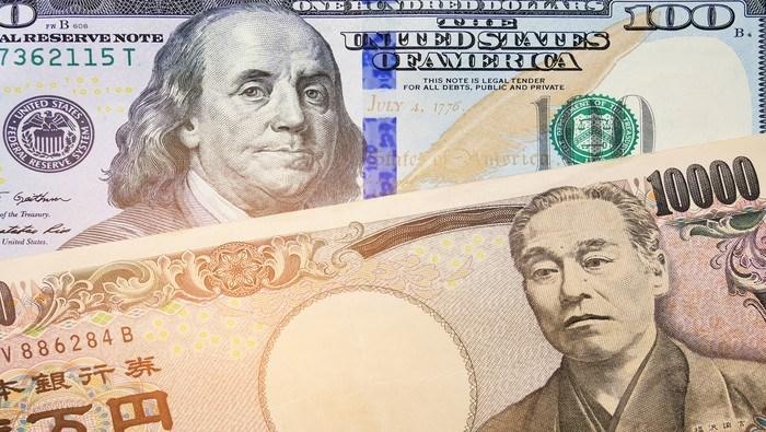 Idea de trading: Corto USD/JPY en resistencia de Fibonacci con la vista puesta en el mínimo anual