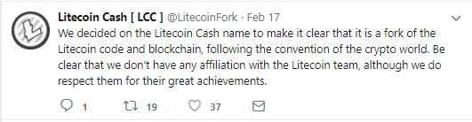 Litecoin Hard Fork Produces Litecoin Cash