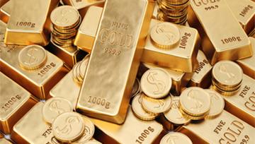El precio del oro retrocede tras la ruptura de los 1.300$