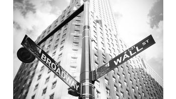 Dow Jones : Wall Street proche d'une oblique haussière de moyen terme