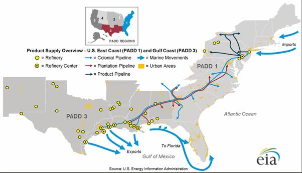 WTI : le pétrole reste baissier, Irma n'en est pas la raison