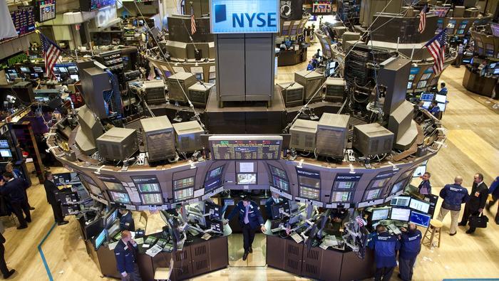 Dow Jones Industrial Average Lower Towards 200-Day