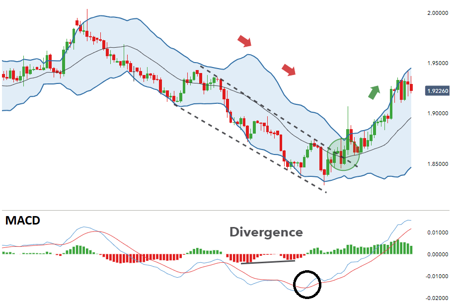 Bollinger Bands and MACD Strategy - The Trend is Your Friend Strategy - Advanced Forex Strategies