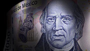 El peso mexicano acelera pérdidas; USD/MXN en máximos de 16 meses