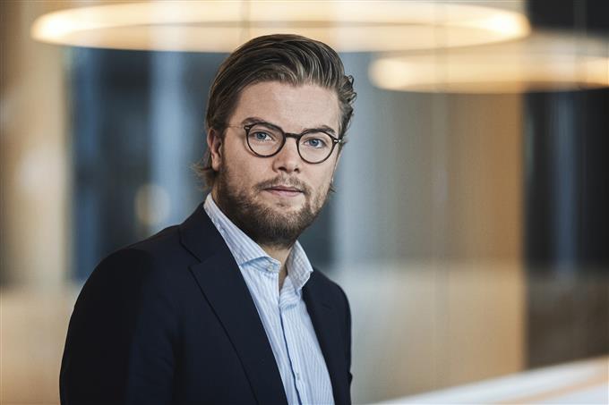 Andreas Steno Larsen of Nordea