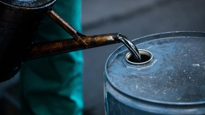 US Dollar Rebounds, Pushing Crude Oil Lower. More Production To Keep a Lid Prices?
