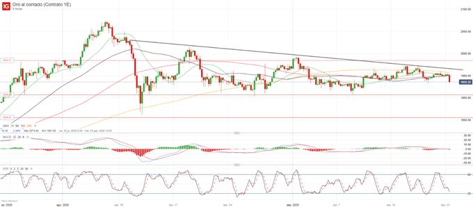 XAU/USD: el precio del oro mantiene el apoyo de compra