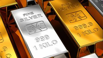 Once d'or - Argent : les métaux sur support après un nouveau « flash crash »
