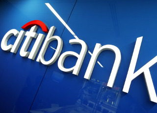 Citigroup logo after Citigroup Q1 earnings