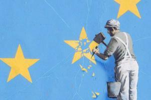 brexit peinture murale