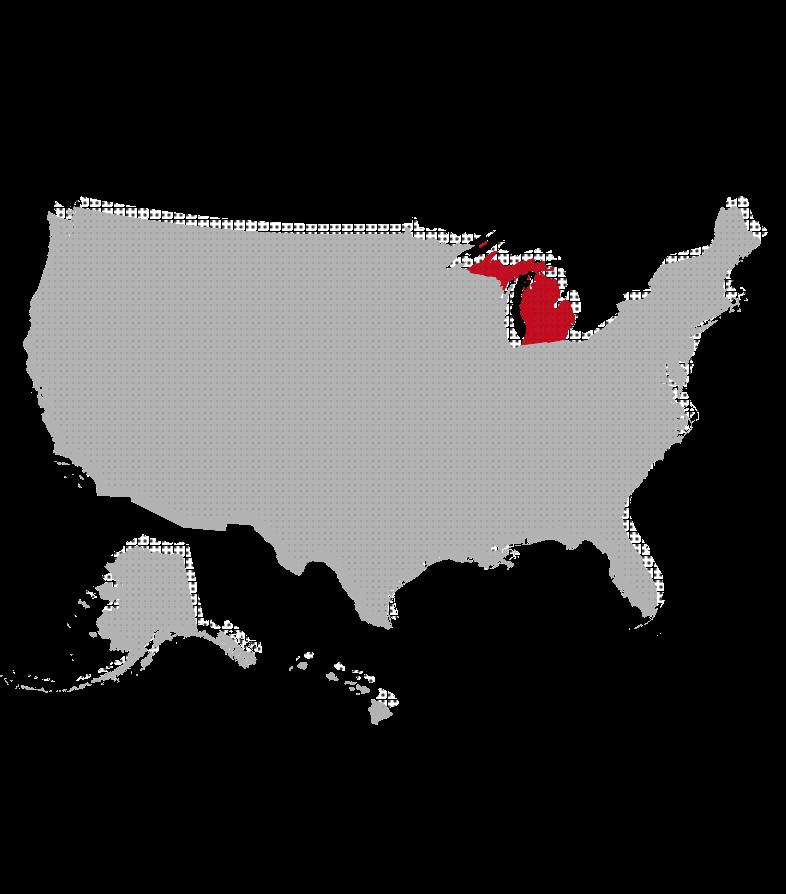 Michigan map image