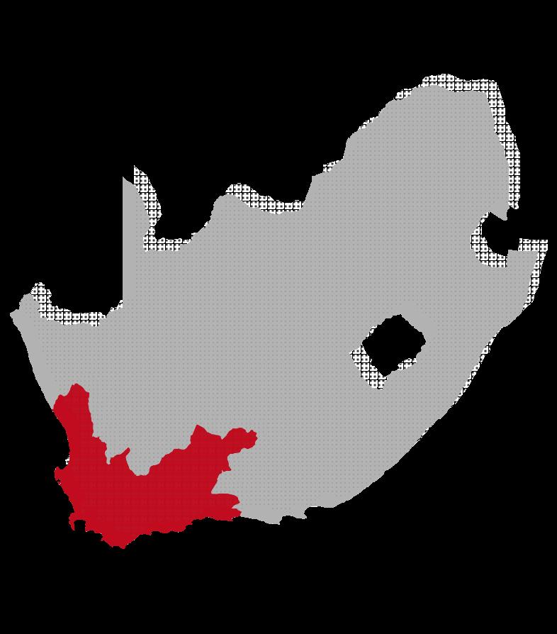 imagen del mapa de Cabo Occidental