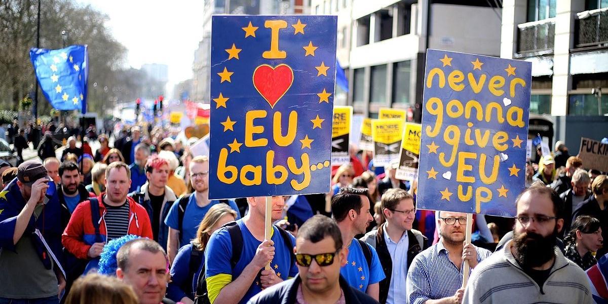 London, Pro-EU Demonstration