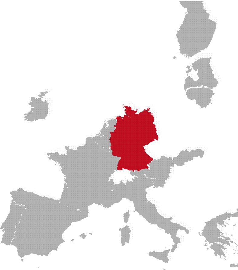 Germany map image