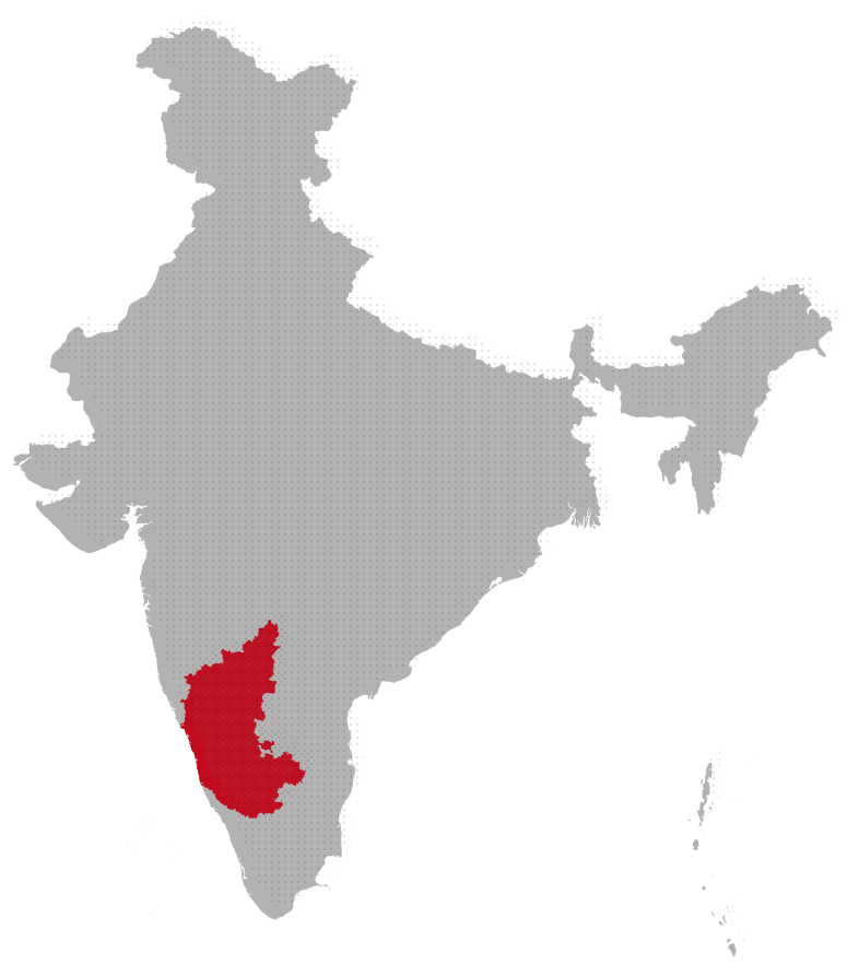 Karnataka map image