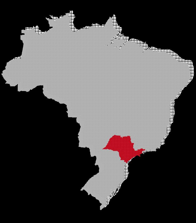 São Paulo map image