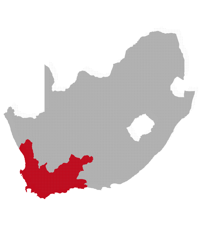 Western Cape map image