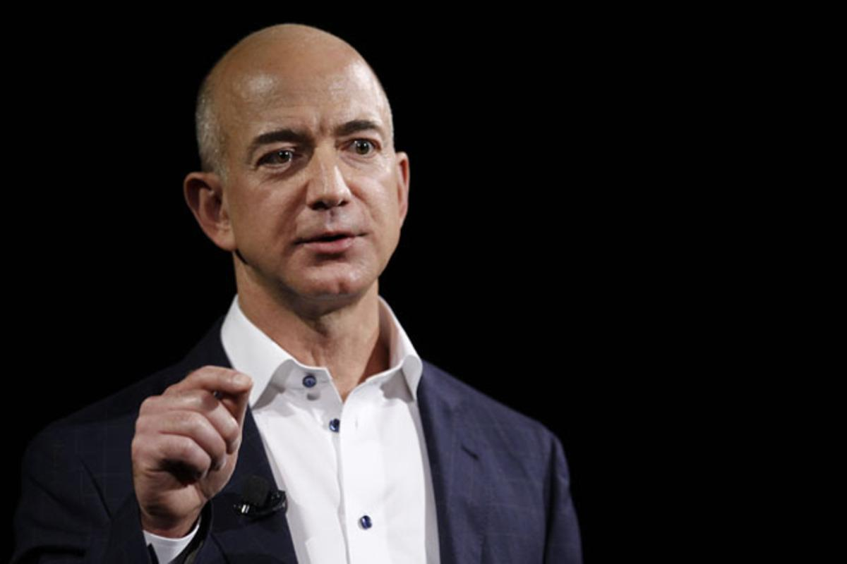 Founder, chairman, and chief executive of Amazon Jeff Bezos