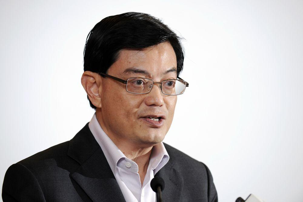 Singapore's finance minister Heng Swee Keat