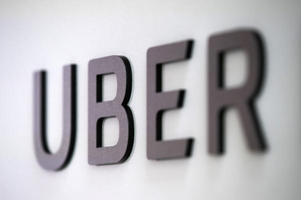 Uber logo after Uber files for IPO
