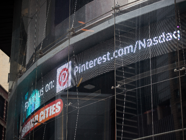 Pinterest prices IPO at US$19 a share, above target range
