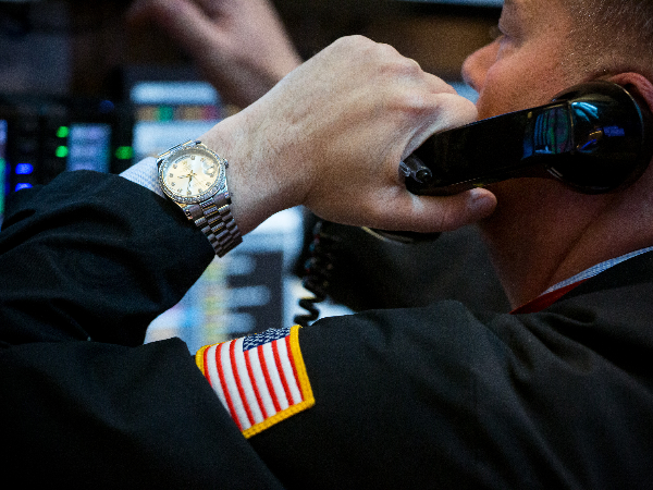 Trader calling after Dow Jones falls 17 points