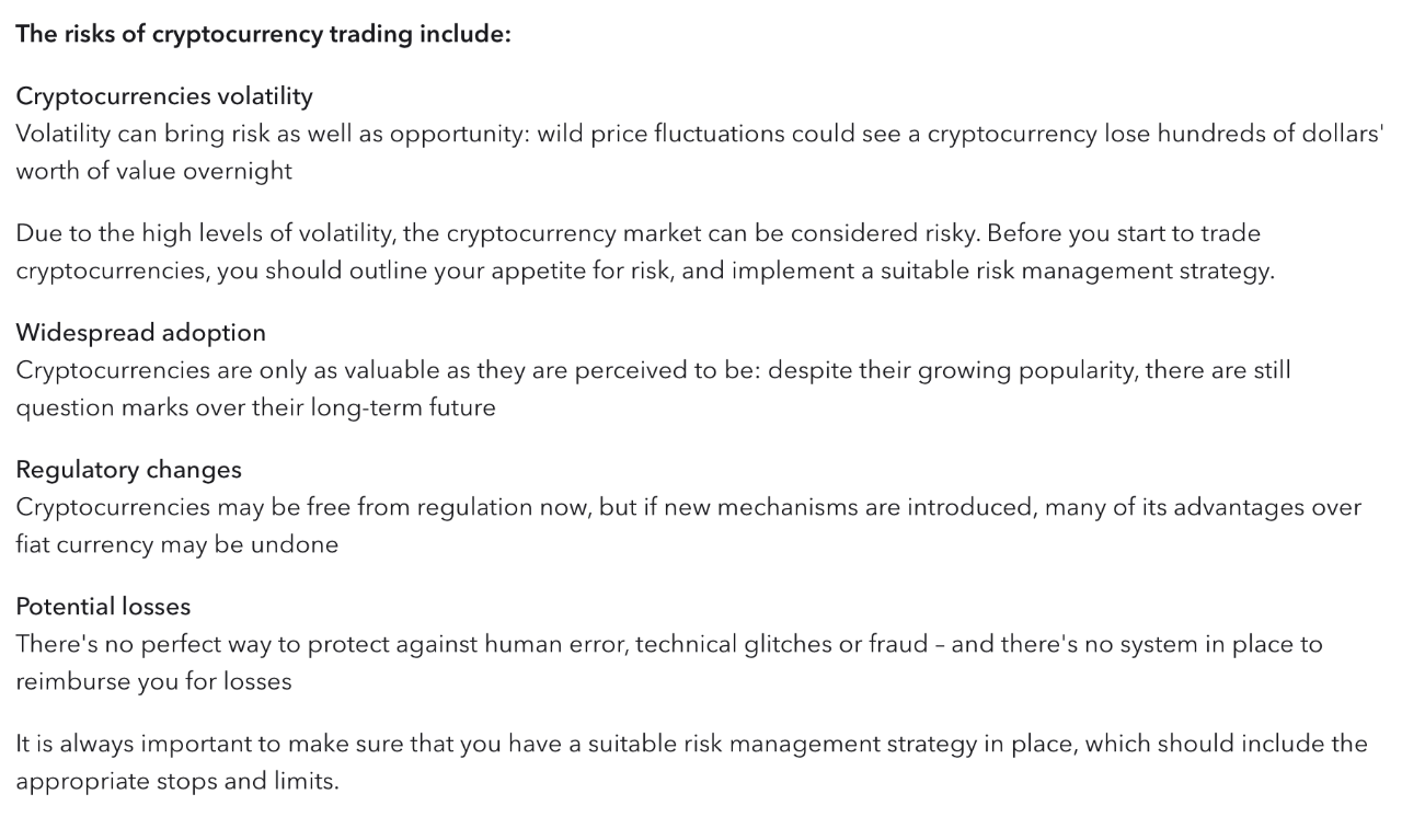 is cryptocurrency always trading